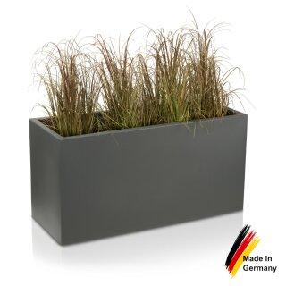 Pflanztrog VISIO 50 Kunststoff basaltgrau matt