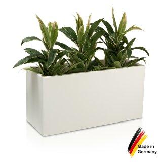 Pflanztrog VISIO 50 Kunststoff weiß matt