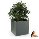 Pflanzkübel CUBO 60 Kunststoff basaltgrau matt