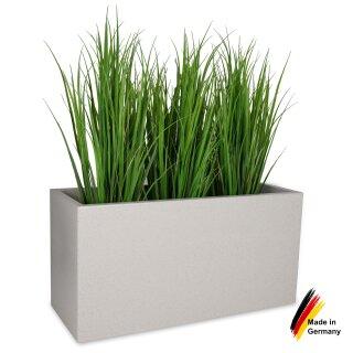 Pflanztrog VISIO 50 Kunststoff terrazzo matt