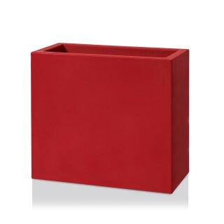 Raumteiler DIVISOR 70 Kunststoff rot matt