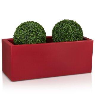 Pflanztrog MURO 40 Kunststoff rot matt
